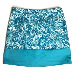 Michael Kors Blue Skirt